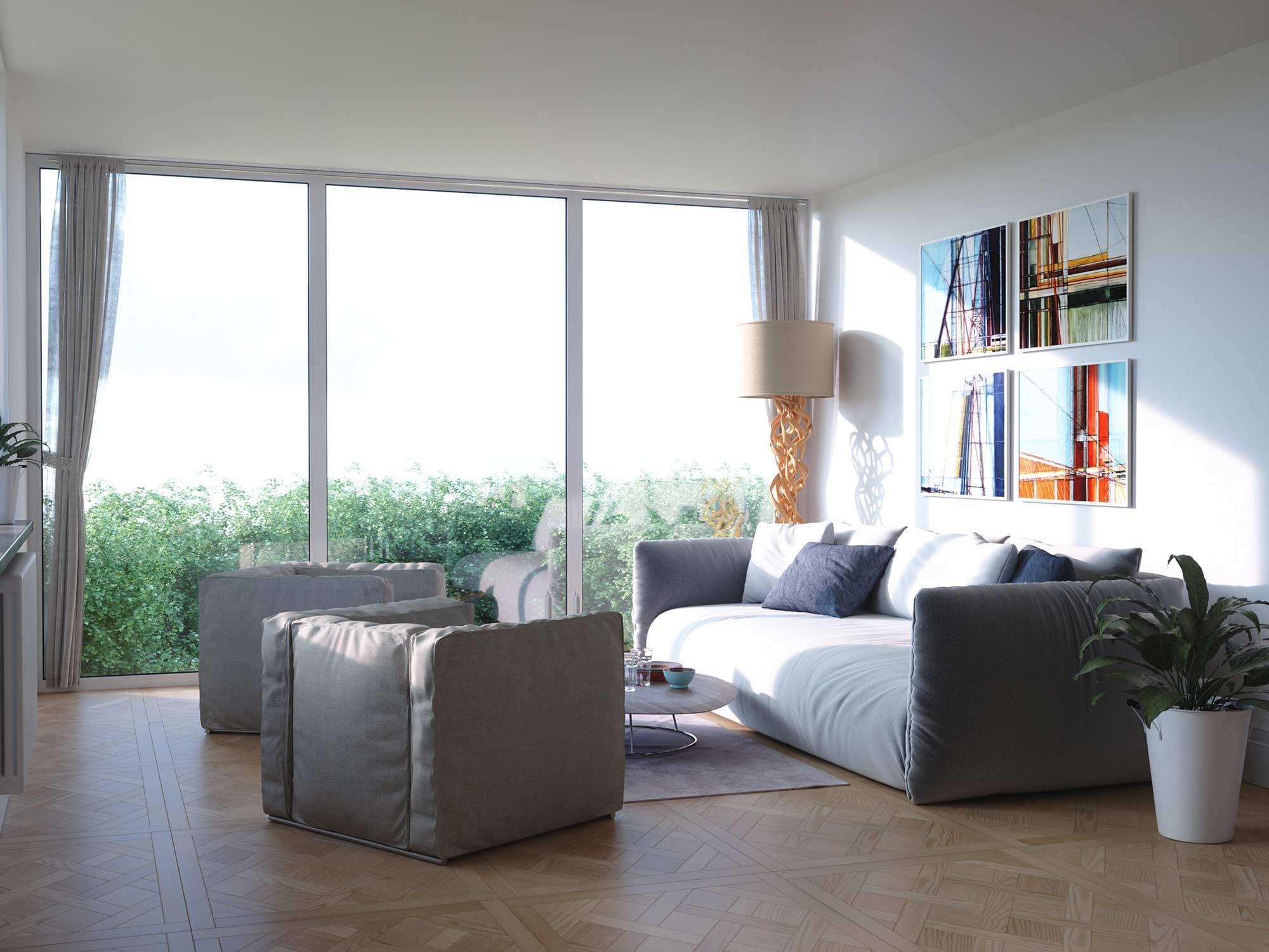 3D Rénovation Appartement Moderne Bruxelles