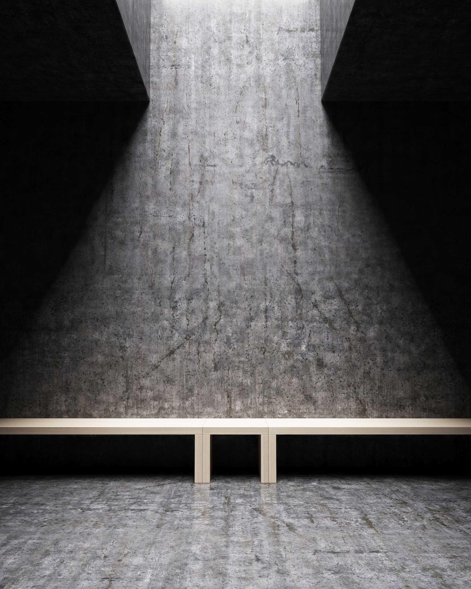 Image 3D béton & lumière