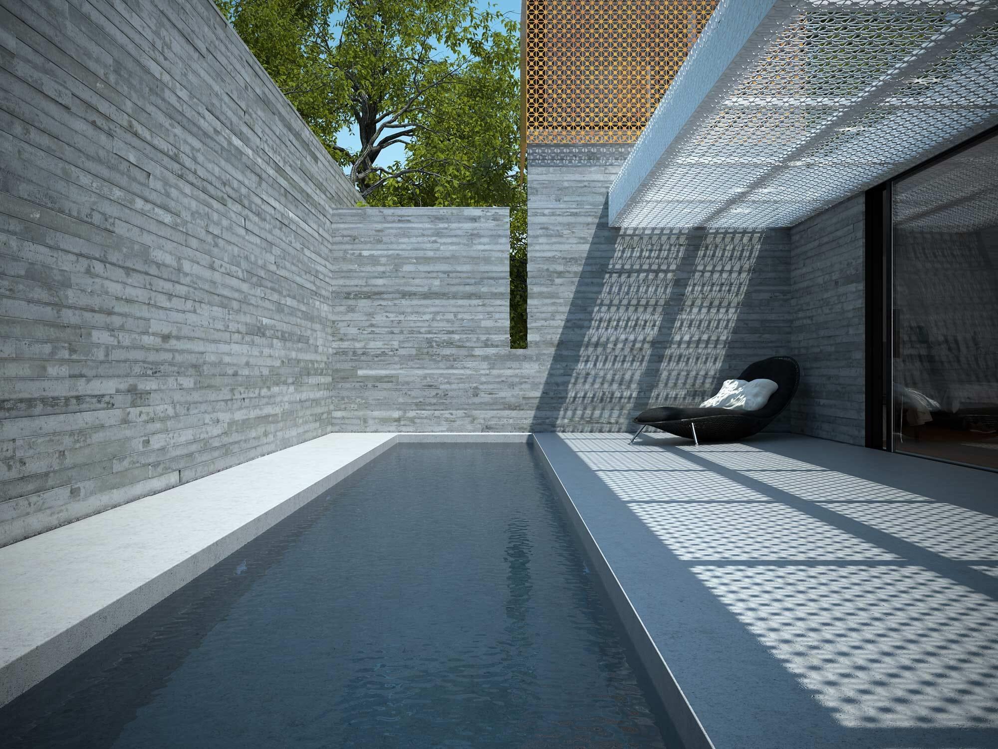 Aigo House Rendu 3D Maison Extérieur