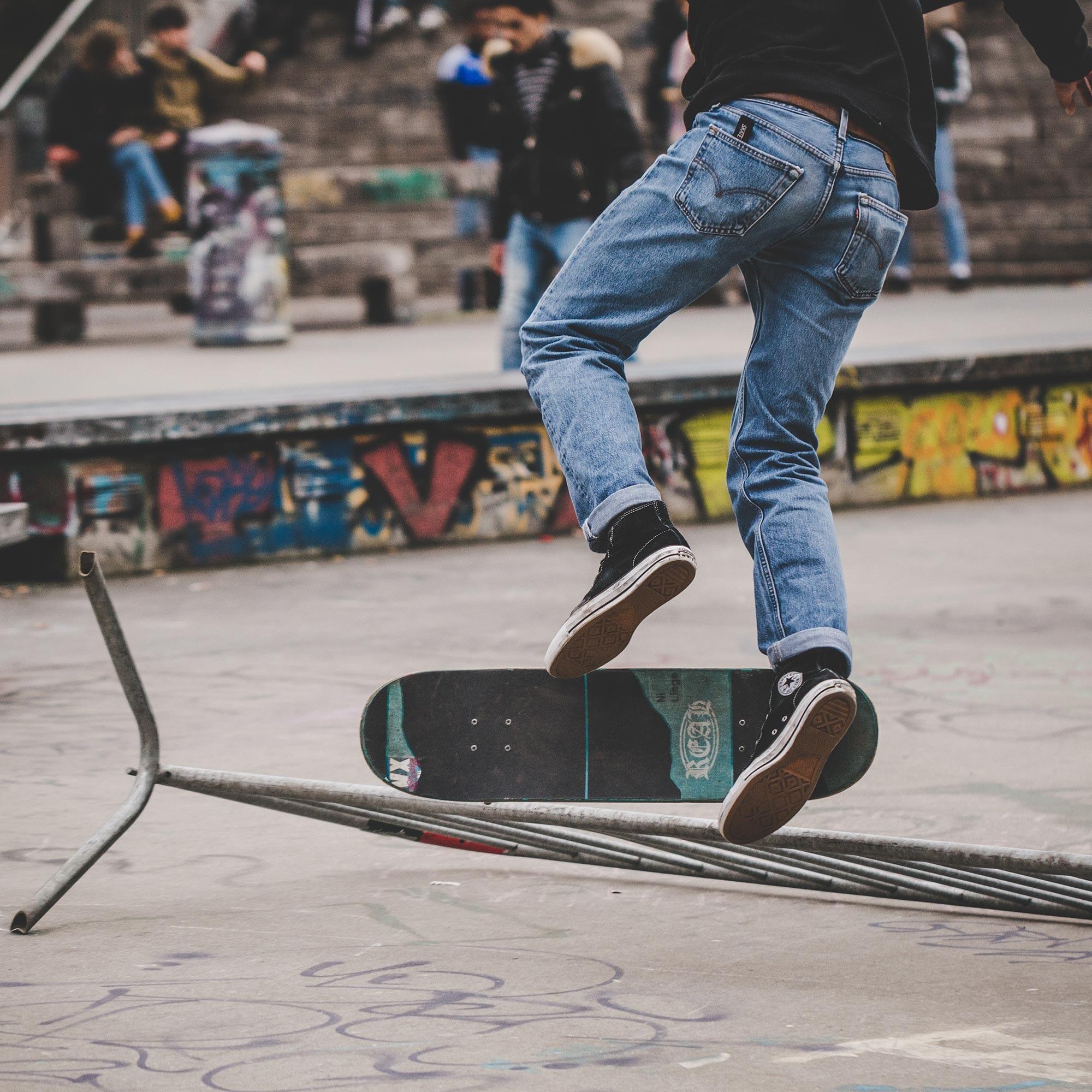 Photo Skate Bruxelles Tricks