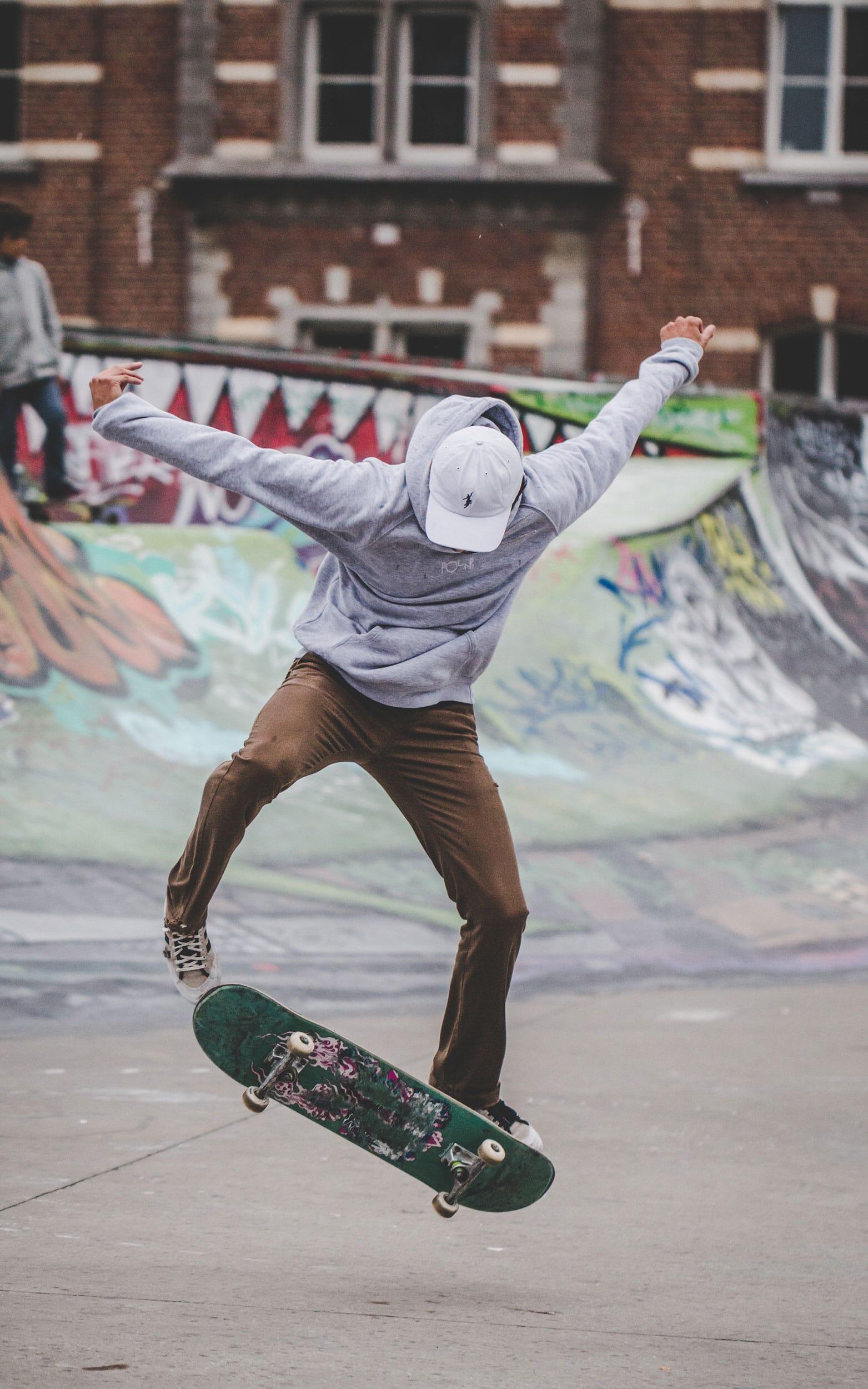 Photo Skateur Bruxelles - Skatepark Ursulines